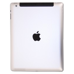 iPAD 4 Back Cover Cinza com Simbolo Escuro Wifi