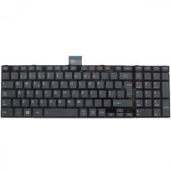 Keyboard Portuguese Toshiba Black