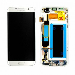 LCD DISPLAY SAMSUNG GALAXY S7 EDGE SILVER