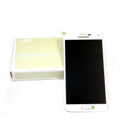 DISPLAY AND TOUCH SAMSUNG GALAXY S5 SM-G900F - WHITE